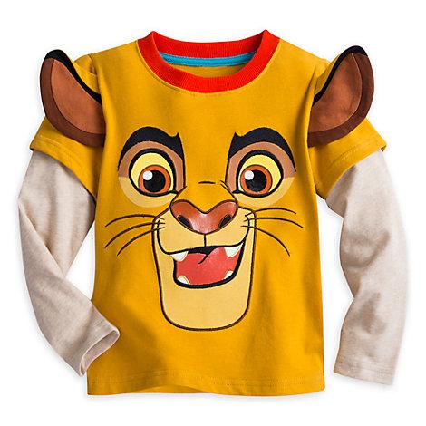 Camiseta de manga larga infantil Kion, La guardia del león