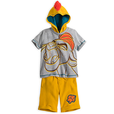 Kion Top and Short Set For Kids, The Lion Guard