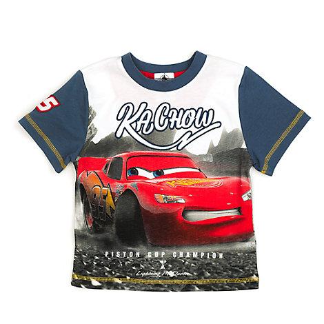 Disney Pixar Cars 3 Lightning McQueen T-Shirt For Kids