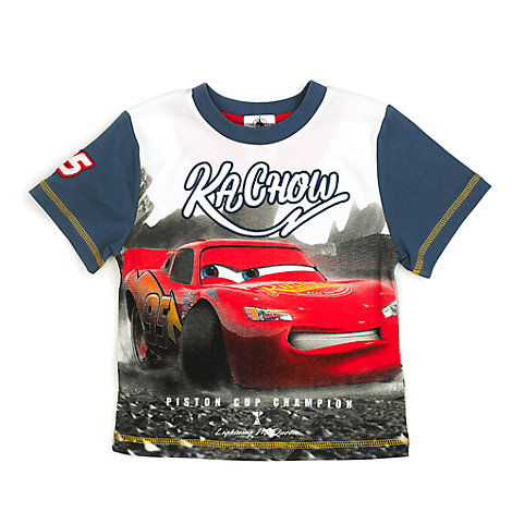Disney/Pixar Cars 3 - Lightning McQueen T-Shirt für Kinder