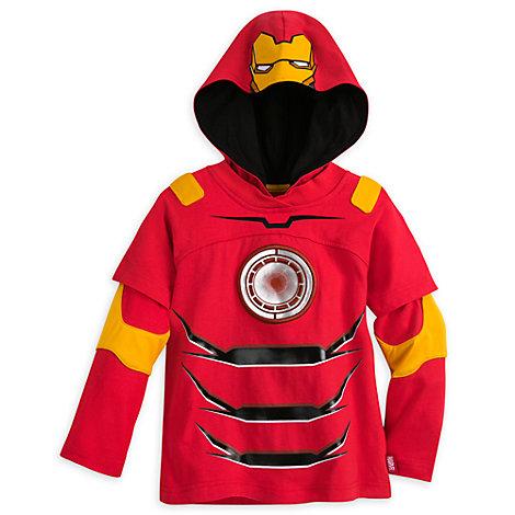 Iron Man, långärmad topp för barn