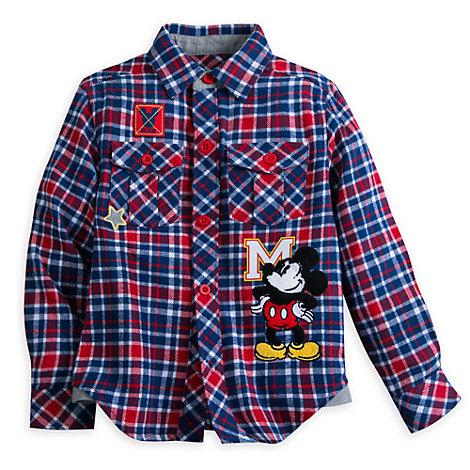 Mickey Mouse skjorte til børn