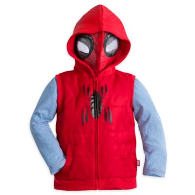 Spider-Man: Homecoming Gilet and Long Sleeve Top Set For Kids