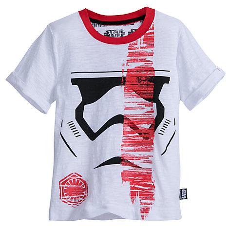 Stormtrooper rundhalset t-shirt til børn, Star Wars: The Last Jedi