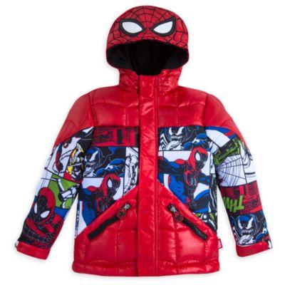 Anorak de plumas infantil Spider-Man