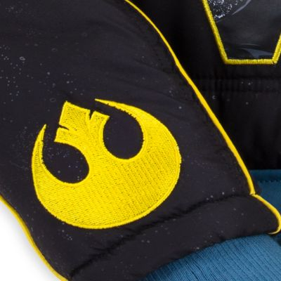 Mickey Mouse Winter Puffer Jacket For Kids