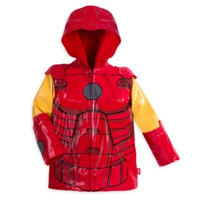 Blouson de pluie Iron Man pour enfants