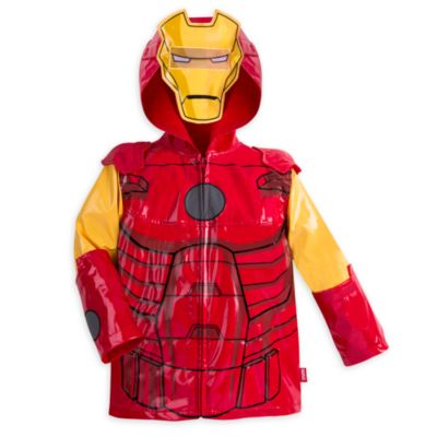 Iron Man Rain Jacket For Kids