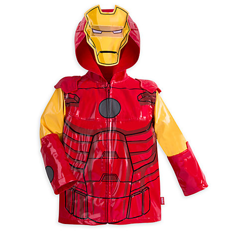 Impermeable infantil Iron Man
