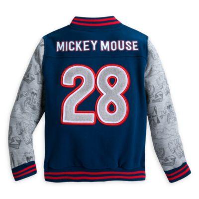 Blouson style universitaire pour enfant Mickey Mouse