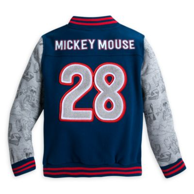 Mickey Mouse collegejakke til børn