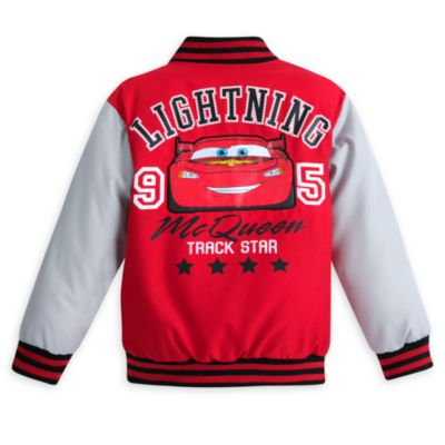 Lightning McQueen Varsity Jacket For Kids, Disney Pixar Cars 3