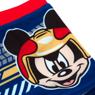 Mickey And The Roadster Racers Swimming Trunks For Kids