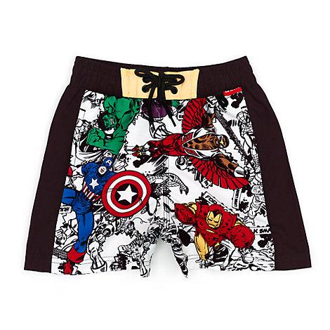 Marvel Avengers Assemble badshorts för barn
