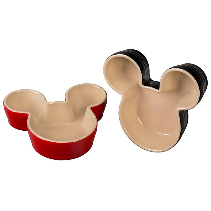 Le Creuset Lot de 2ramequins Mickey Mouse