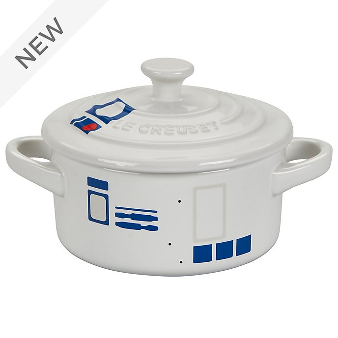 Le Creuset R2-D2 Small Round Casserole Dish, Star Wars