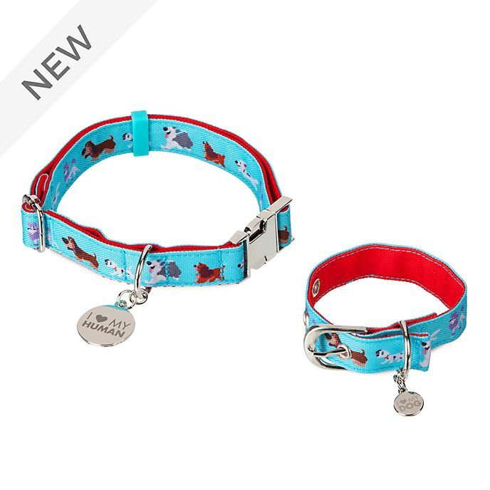 Disney Store Oh My Disney Dogs Collar and Bracelet Set
