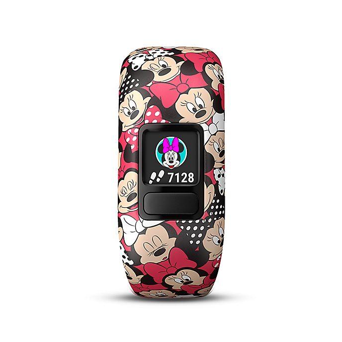 Garmin vívofit jr. 2 - Minnie Maus Fitness-Tracker für Kinder mit elastischem Armband