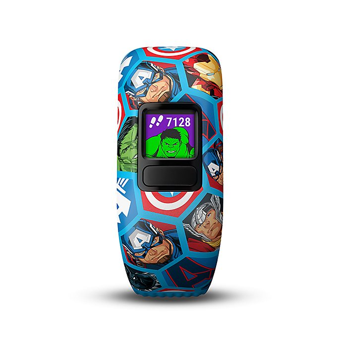 Garmin vívofit jr. 2 - Marvel Avengers Fitness-Tracker für Kinder mit elastischem Armband