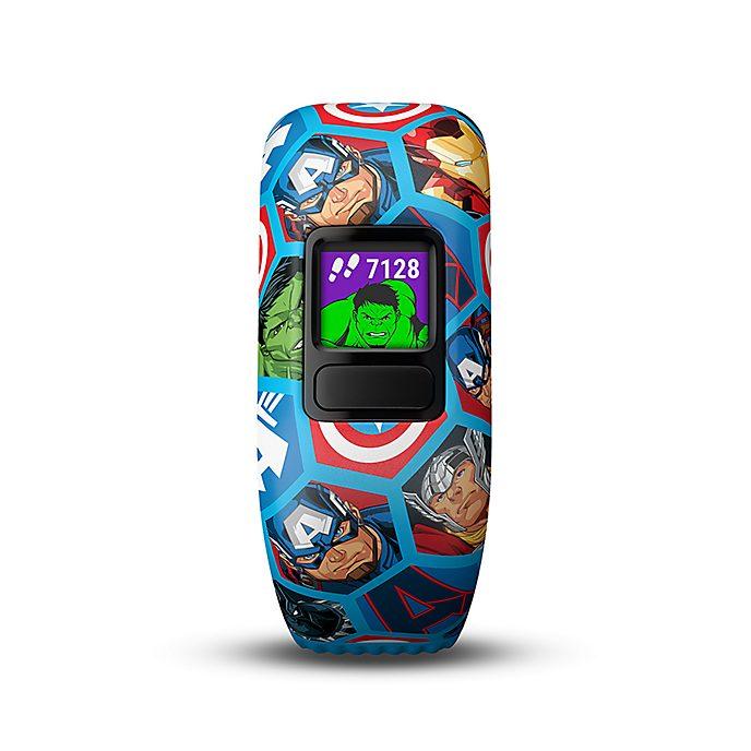 Garmin Vengadores de Marvel vívofit jr. 2 para niños con pulsera elástica