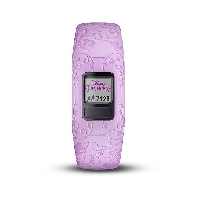 Garmin vívofit jr. 2 - Disney Prinzessin - lila Fitness-Tracker für Kinder mit verstellbarem Armband
