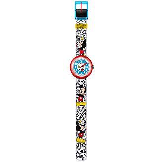 Reloj infantil Mickey Mouse, Flik Flak, Swatch