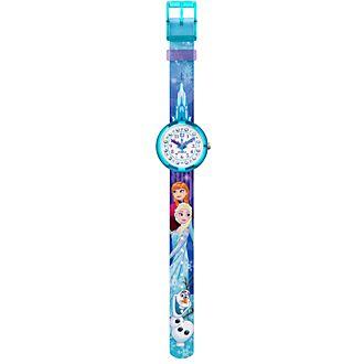 Reloj infantil Frozen: El Reino de Hielo, Flik Flak, Swatch