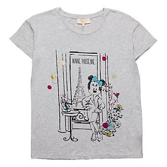 T-Shirt pour adultes Minnie Bohème Disneyland Paris
