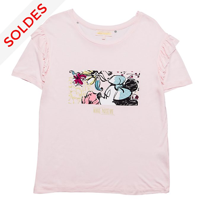 T-Shirt pour adultes à volants Minnie Bohème Disneyland Paris