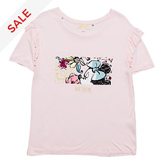 Disneyland Paris Minnie Bohème Ruffle T-Shirt for Adults