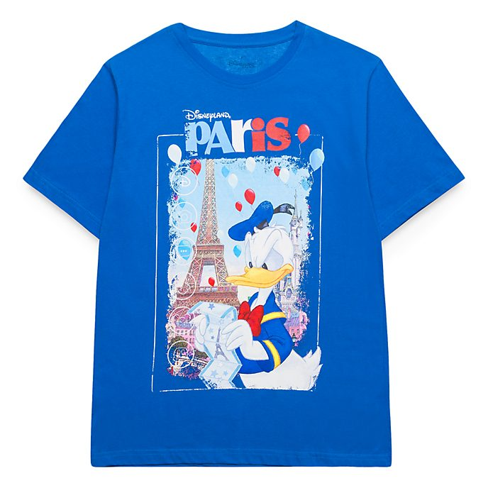 Disneyland Paris Donald Duck Souvenir T-Shirt for Adults