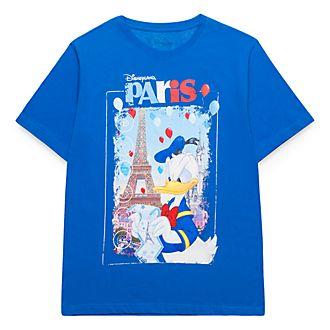 Disneyland Paris Donald Duck Souvenir T-Shirt for Adults