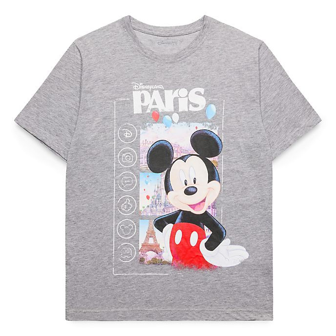 c7e117aedb4f6 Disneyland Paris Mickey Mouse Souvenir T-Shirt for Adults