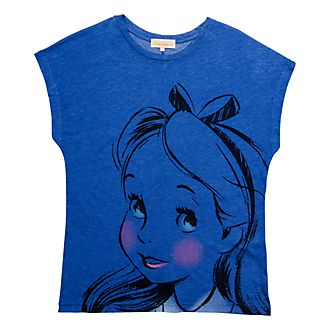 T-Shirt pour adultes Alice Pastel Disneyland Paris