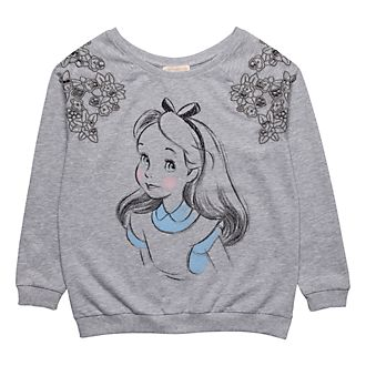 Sweatshirt Alice Pastel Disneyland Paris