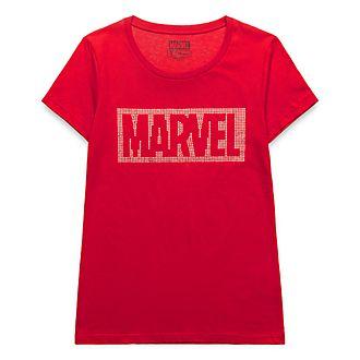 Disneyland Paris Marvel Glitter T-Shirt for Adults