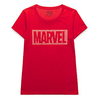 T-Shirt pailleté pour adultes Marvel Disneyland Paris