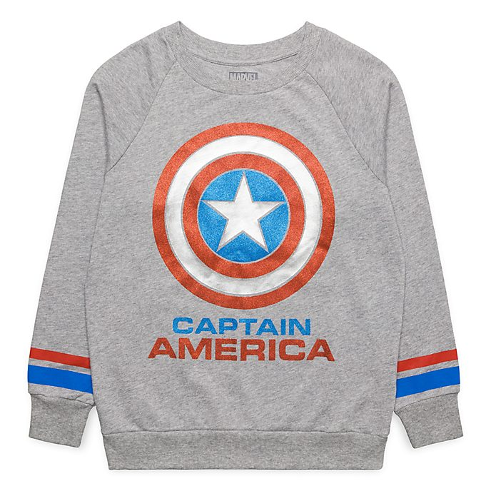 Sweatshirt Captain America Disneyland Paris