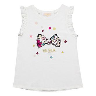 T-Shirt pour adultes épaules à volants Minnie Bohème Disneyland Paris