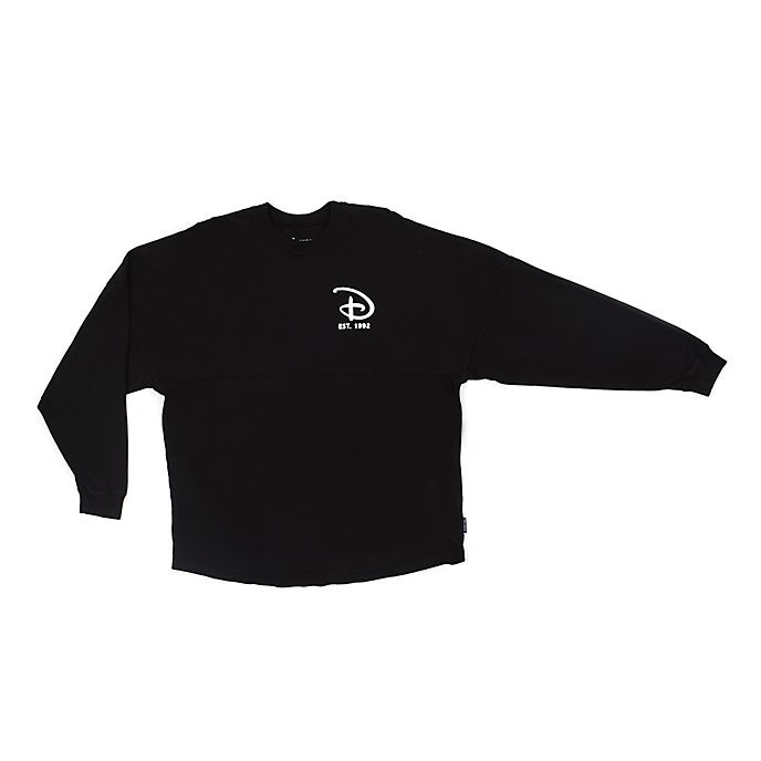 Disneyland Paris Black Spirit Jersey Sweatshirt for Adults