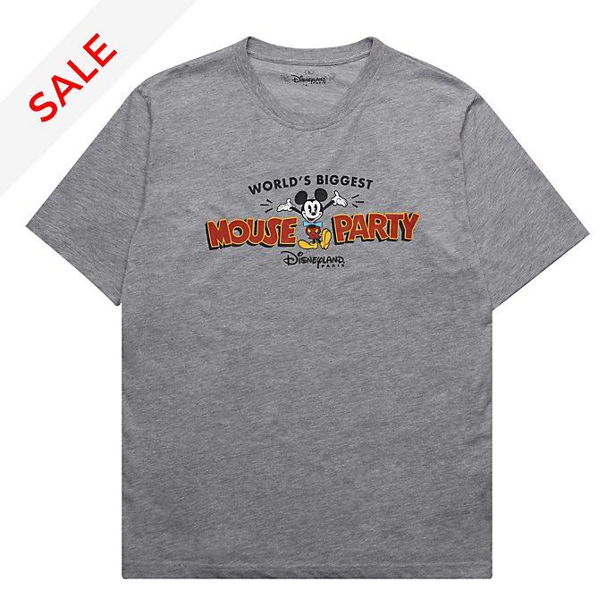Disneyland Paris Mickey Mouse Ladies' Grey T-Shirt