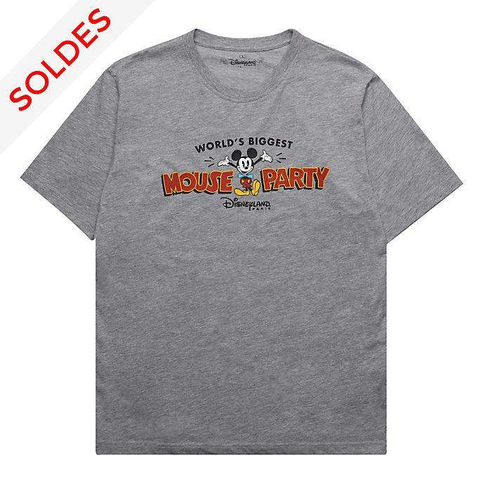 Disneyland Paris T-shirt Mickey gris pour femmes