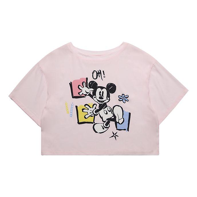Disneyland Paris T-shirt Mickey court pour femmes