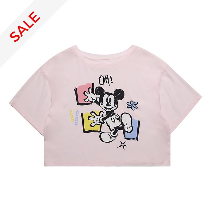 Disneyland Paris Mickey Mouse Ladies' Crop T-Shirt