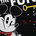 Disneyland Paris Mickey Mouse Black T-Shirt For Adults