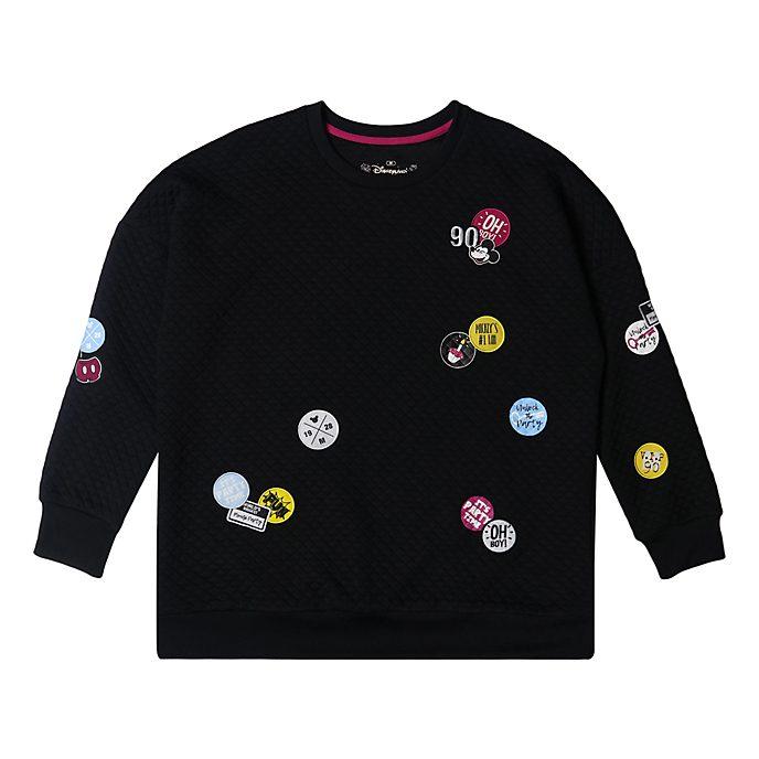 Disneyland Paris Sweatshirt Mickey noir pour adultes