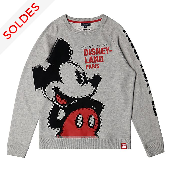 Disneyland Paris Sweatshirt Mickey gris pour adultes