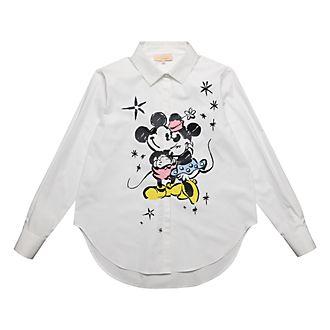 812e7f95bc2cb Disneyland Paris T-shirt Mickey et Minnie pour femmes