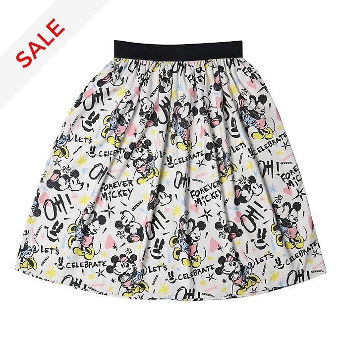 Disneyland Paris Mickey and Minnie Skirt For Adults