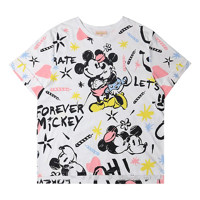 Disneyland Paris Mickey and Minnie T-Shirt For Adults